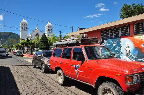 Beautiful church of Juayua, El Salvador
