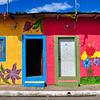 Beautiful colored houses of Apaneca, El Salvador