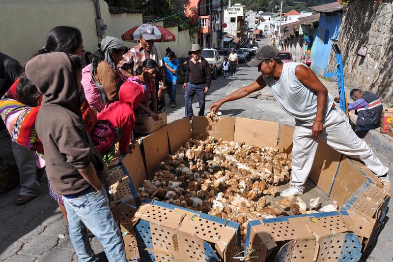 Market day in Chichicastenango, Guatemala