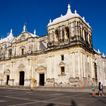 Cathedral of Leon, part of Unesco World Heritage, Leon, Nicaragua.