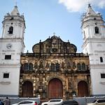 Old church in Panama City, Panama
