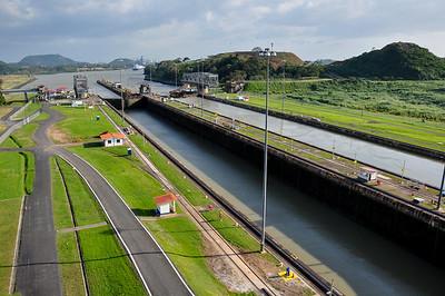 The Panama Canal, Miraflores, Panama