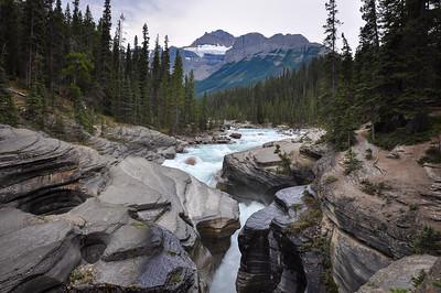 Athabaska falls, Alberta, Canada