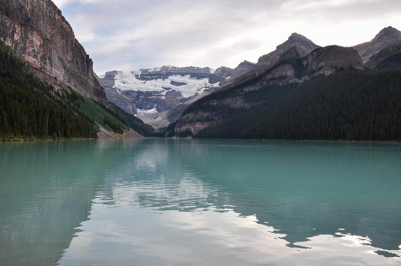 Beautiful Lake Louise in all it's purity, Alberta, Canada