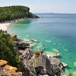 Bruce Peninsula in summer time, Ontario, Canada