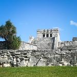 Tulum mayan ruins, Yucatan Peninsula, Mexico