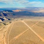 Nevada's desert near Las Vegas, USA