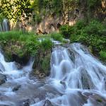 Spearfish Canyon waterfalls, South Dakota, USA