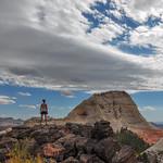 Woman VS Wild in Zion Kolob Reservoir, Utah, USA