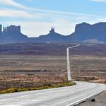 Road trip to Monument Valley, Arizona, USA