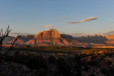 Sunset near Zion National Park, Utah, USA