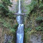 Multnomah Falls, Colombia River Gorge, Oregon, USA