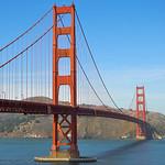 The Golden Gate bridge, San Francisco, California, USA