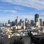 San Francisco Skyline, San Francisco, California, USA