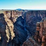 Little Colorado River in Navaja region, Arizona, USA