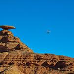 Paragliding at Mexican Hat, Utah, USA