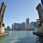 Entering Miami port, Florida, USA