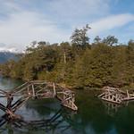 Seven lakes road in Villa la Angostura, Argentina.