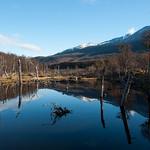 Landscapes of Tierra del Fuego, South Argentina.