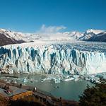 Beautiful landscapes of Perito Moreno Glacier, Argentina.