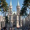 Cathedral da Se, in middle of Sao Paulo, Brazil