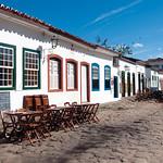 Old colonial town of Paraty, Rio de Janeiro, Brazil.