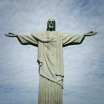 Christ the Redeemer (Cristo Rendentor), Corcovado, Rio de Janeiro, Brazil.