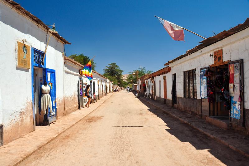 Colorful and Sober San Pedro de Atacama, Chile