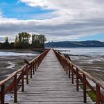 Infinity dock, Chiloe Island, Chile