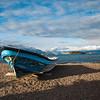 Killer boat in Lago General Carrera, Carretera Austral, HIghway 7, Chile