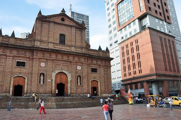 A church in Cali, Colombia