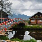Delicate & colorful laguna la Cocha, Colombia