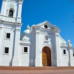 Church in Santa Marta, Colombia.