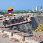 San Felipe's castle, Carthagena, Colombia