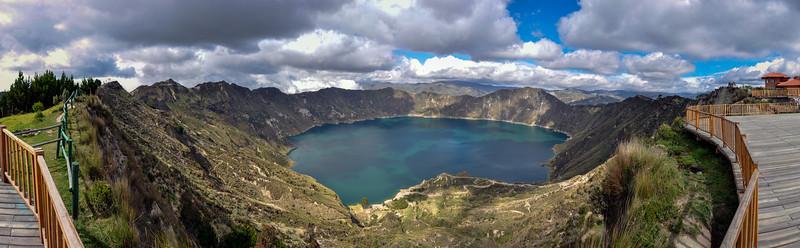 Quilotoa Crater Lake, Ecuador