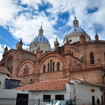 Cuenca's cathedral, Unesco World Heritage, Ecuador.