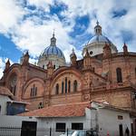 Cuenca's cathedral, Unesco World Heritage, Ecuador