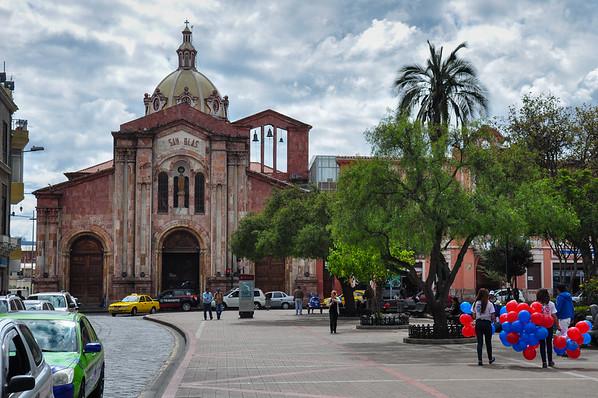 Church of San Blas, Cuenca, Ecuador