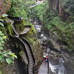 Pailon del Diablo, Banos Santa Agua, Ecuador