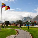 The middle of the world or Latitude Zero, Ecuador