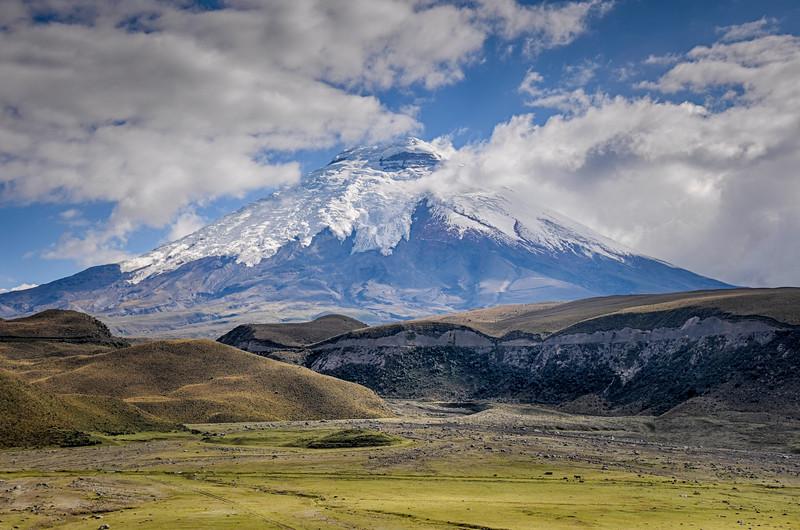 Volcano in Cotopaxi National Park, Ecuador
