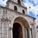 The oldest church of Ecuador