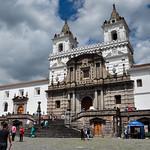 San Francisco church in Quito, Ecuador