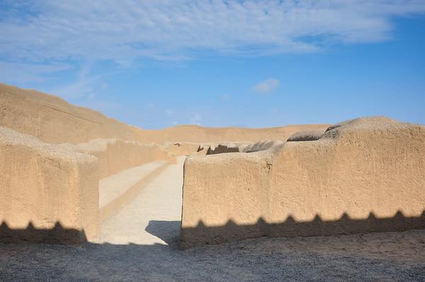 Chan Chan archeological site, Peru