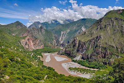 Beautiful Landscapes of Peru, near Abancay