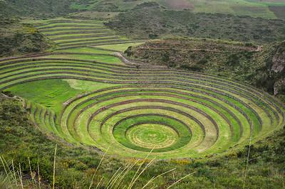 Moray Inca's ruins, Peru