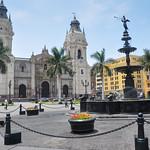 Plaza de Armas, Lima, Peru.