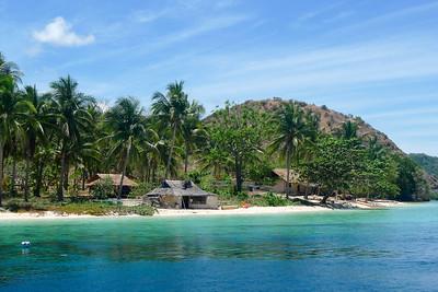Small island near Coron, Philippines