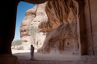 Madain Saleh Archeological Site in Saudi Arabia