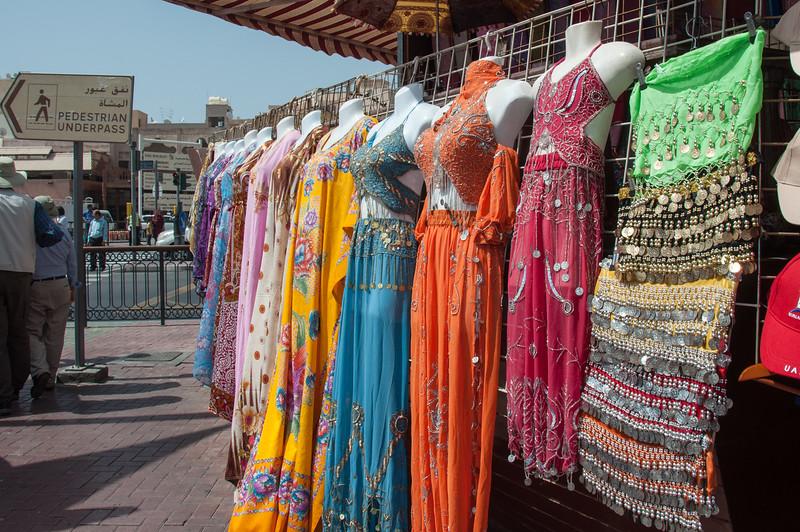 Shopping at the souk, Dubai, UAE